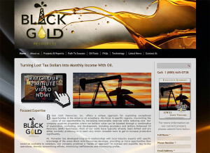 Black Gold Resources Inc. (Hendersonville, TN) WordPress+html5+css3