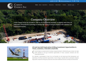 Carson Energy, Inc. (Austin) wordpress-cms