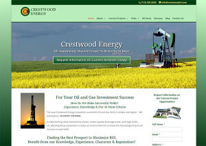 Crestwood Energy, LLC. (Houston) – Since 2012 html5+wordpress cms