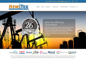 Hew-Tex Oil & Cas Corporation (Houston) wordpress cms
