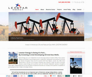 Lexstar Energy, LLC. (Frisco, Tx) wordpress cms+html5+css3
