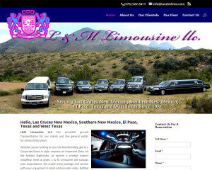 LandMLimo.com. (Las Cruces, NM) – wordpress-cms