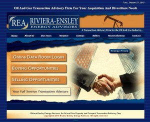 Riviera/Ensley Energy Corp. (Midland/Houston) html5+css3 -Since 2001