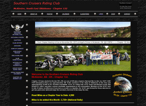 Southern Cruisers Riding Club – (SE Oklahoma Chapt. 132 McAlester, OK) – Since 2010 html-css