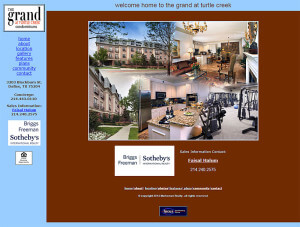 The Grand at Turtle Creek (Dallas) – Since 2006 html-css