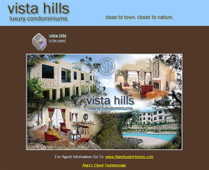 Vista Hills Luxury Condominiums (Austin) – Since 2007 html-css