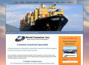 World Container, Inc. (Reno, NV) – Since 2013 wordpress-cms