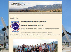 WSMRKids.com. (New Mexico) – Since 1991 wordpress-cms
