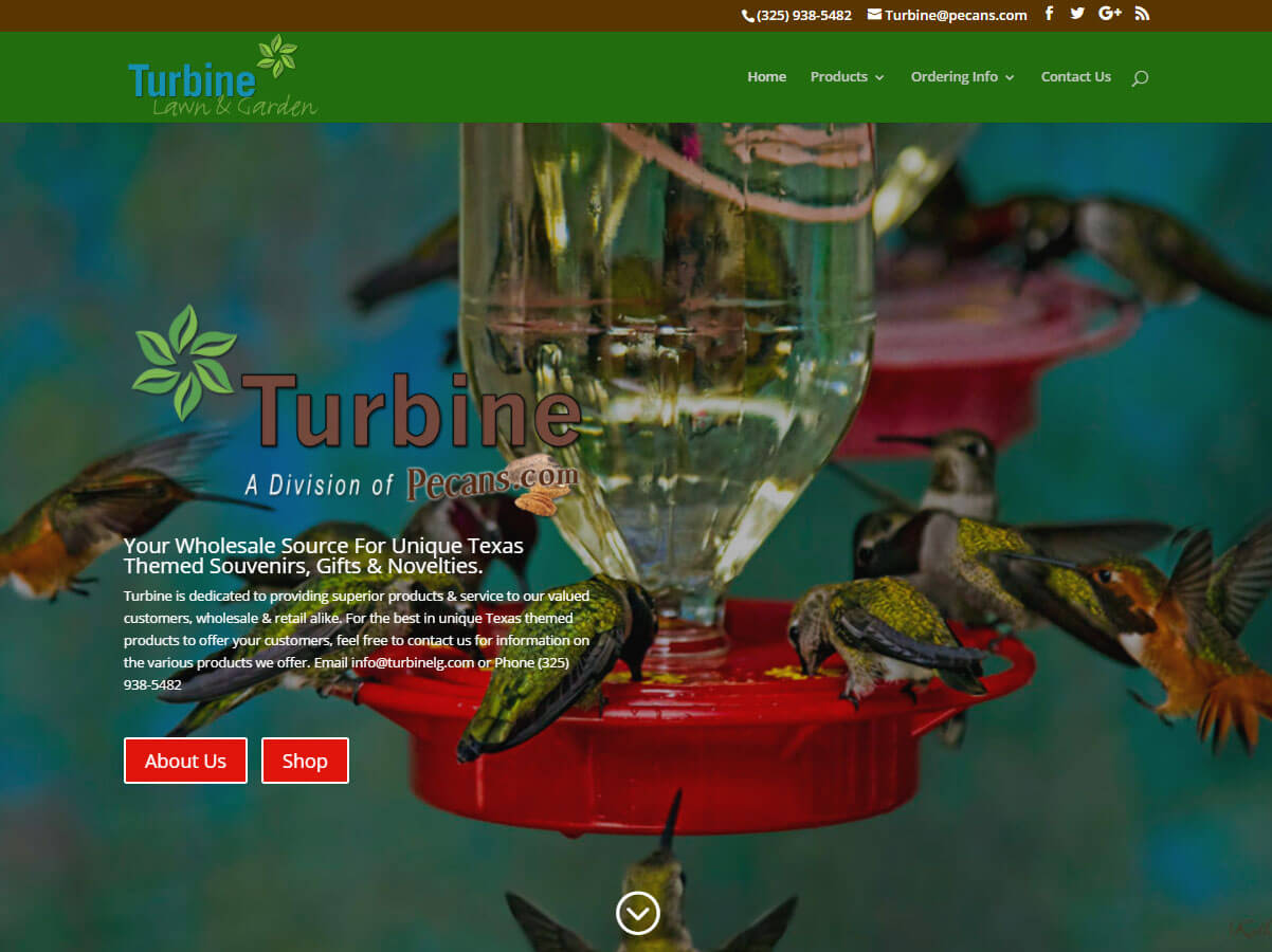 Turbine Lawn & Garden (Goldwaith, TX) – Since 2017 wordpress cms